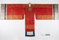 韩国100多年前皇太子妃的结婚礼服长这样