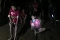 生命奇迹!13名泰国足球队员失联10天后被救出
