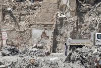 伊拉克摩苏尔战火废墟下已发掘出5000多具尸骸