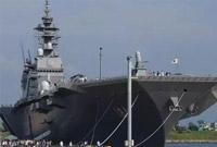 日本准航母巡航南海却不敢闯岛礁 曾被中国舰机监视