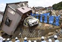 死亡人数继续上升 日本暴雨已经导致123人死亡