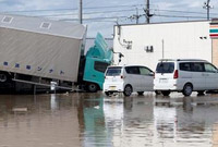 日本暴雨致死人数升至158人 另有57人下落不明