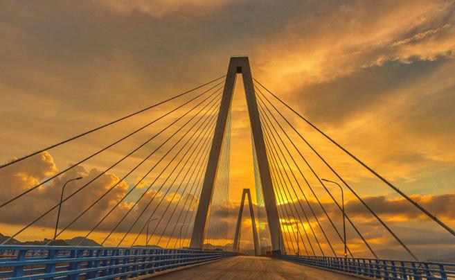 乐清湾大桥及接线工程进入扫尾阶段 力争8月底正式通车