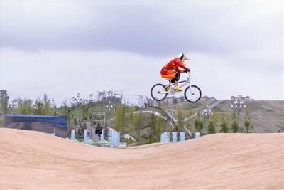 全国青年BMX锦标赛 宁波小将顾权权夺两金