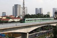 中企承建越南首条城市轻轨具备运行条件