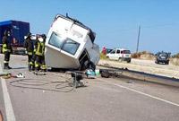 意大利南部发生车祸 12名外国工人死