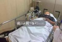 天上突然掉下沙发!杭州这位行人被砸中瞬间没知觉