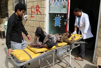 也门一巴士遭武装袭击致43死61伤 多数为十岁以下儿童