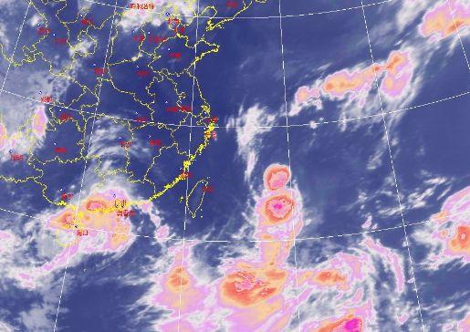 高海拔山区短时阵风可达11级, 全市明天有大到暴雨局部大暴雨,过程图片