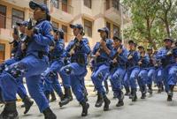 印度成立首支女子特警队 独立日确保莫迪安全