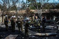 智利一养老院失火造成10人遇难