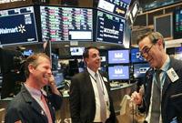 纽约股市三大股指16日上涨