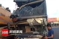 车头损毁 司机愣是从湖南开到四川 这经历都能拍电影了