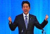 安倍参选自民党总裁 将与石破就宪法第九条论战