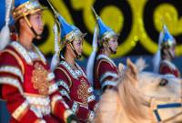 中国・呼和塔拉蒙古马文化艺术周在呼和浩特拉开帷幕