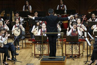 中美青少年联袂演出 中国民乐亮相美国知名学府