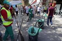 阿尔及利亚开展城市清洁行动以减少霍乱传播途径
