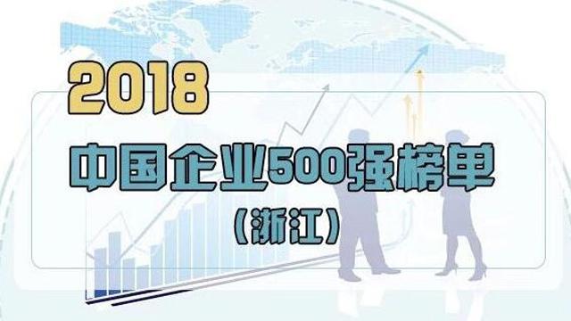中国企业500强出炉:宁波9家企业上榜!