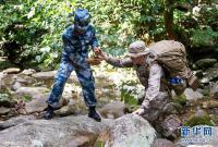 中澳美野战生存联合训练结束