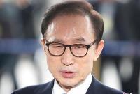 李明博否认受贿:冠上这罪名太耻辱