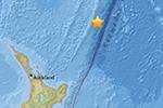 新西兰以北海域发生7.0级地震