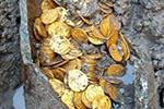 意废弃剧院挖掘出大批金币 或源自古罗马帝国