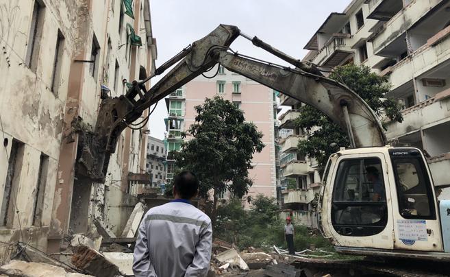 王隘二村危改项目今起开拆 涉及被征收户数727户