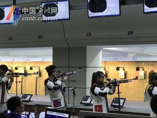 厉害!全国射击总决赛 宁波徐红和队友超世界纪录夺冠