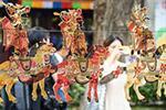 湟中非遗工艺品展在南京举行