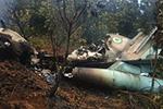 尼日利亚两架军机发生空中碰撞后坠毁