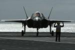 美国防部宣布所有F-35战机暂时停飞 检查发动机内一油管