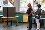 德国巴伐利亚州议会选举开始投票