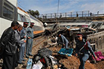 摩洛哥火车脱轨事故造成90多人死伤