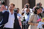 英国哈里王子夫妇访问澳大利亚