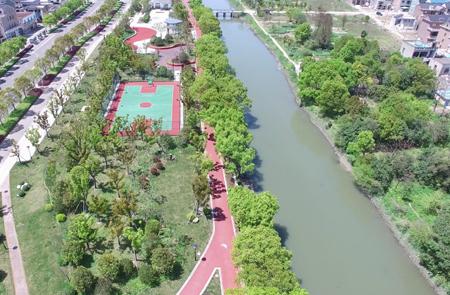 象山南大河:畅享滨水景观