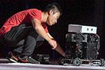 中科大校园上演机器人大赛
