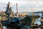 俄航母整修时出意外 甲板受损4人受伤1人失踪