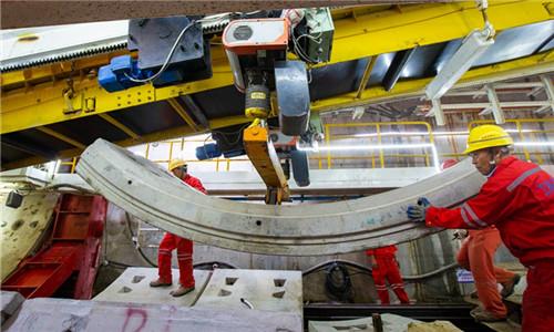 18台盾构机齐上阵 地铁4号线预计明年7月全线洞通