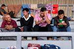 大批中美洲移民抵达墨西哥城