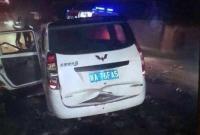 西安一面包车与水泥搅拌车相撞 已致10人死亡2人重伤