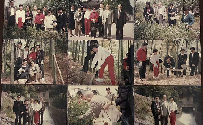 镇海一对老夫妻珍藏26年的照片 交给了包玉刚家人