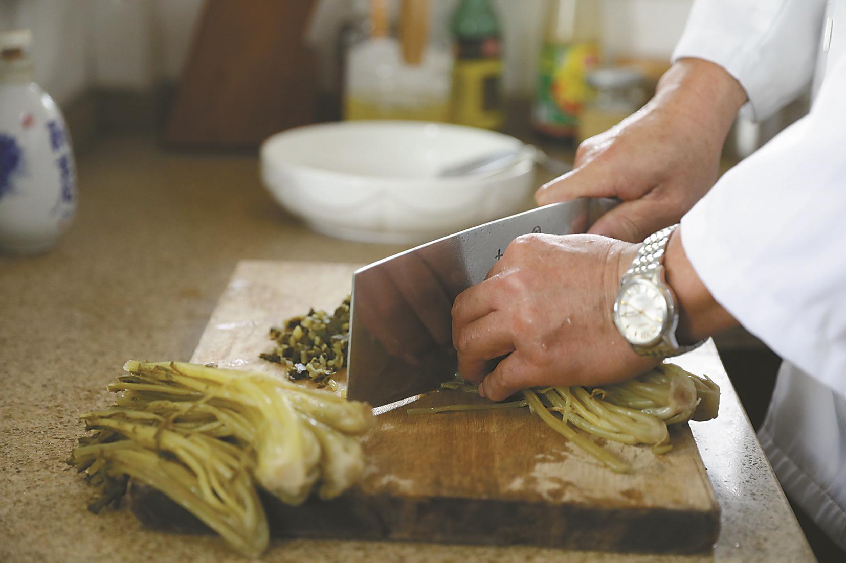 咸齑:传统腌制 百年工艺