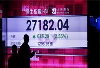 港股涨2.55% 收报27182.04点