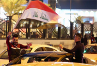 """伊拉克举行活动庆祝取得打击""""伊斯兰国""""胜利一周年"""