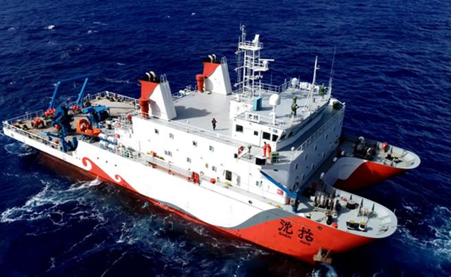 """""""彩虹鱼""""第二代着陆器成功进行万米级海试"""