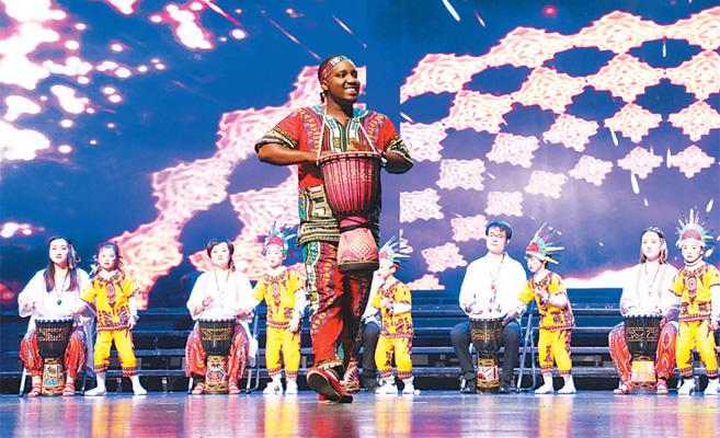 东柳睦邻文化节主题晚会上演