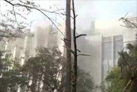 印度孟买一医院发生火灾 已致6死145伤