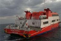 """舟山渔船带着""""捡""""到的外籍游艇 将于21日凌晨抵达岱山"""