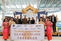 赴泰中国游客破千万创历史新高