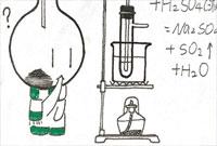 杭州一高中女生灵感一现 冷冰冰数理化变萌哒哒漫画